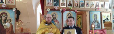 В храме великомученика Георгия села Косково появилась новая икона святого Иоанна Предтечи