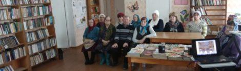 Очередной день православной книги прошел в Югской библиотеке